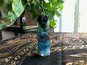 rainbow fluorite tower