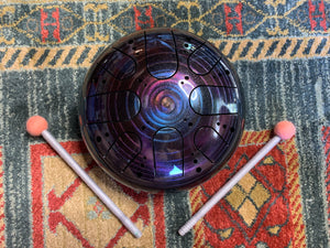 9 inch b minor 432 Hz Cosmic Healing Drum