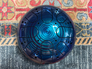 9 inch b minor 432 Hz Blue Dream Healing Drum