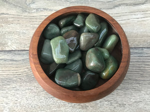 Green Aventurine Palm Stone