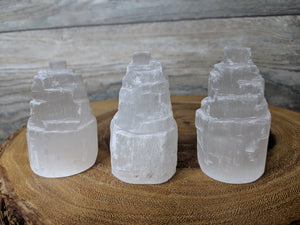 Peaceful Selenite Tower