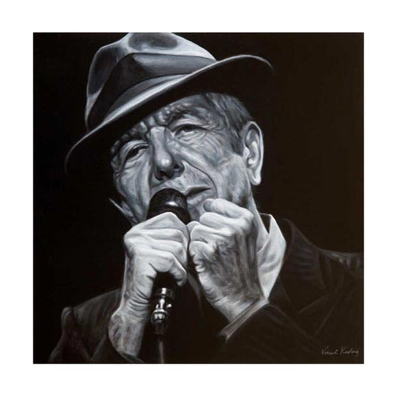 Leonard Cohen Paintings and Prints