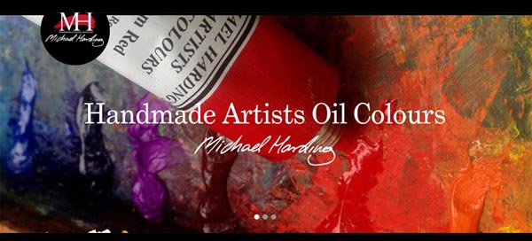 Michael Harding oil paints
