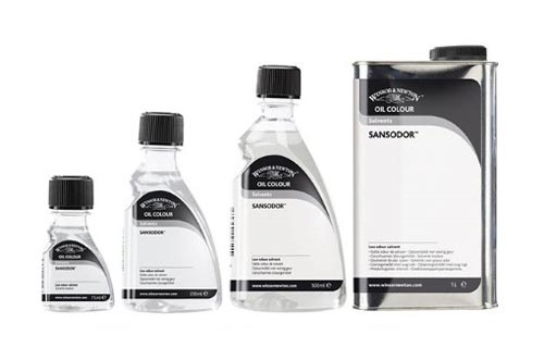 Sansodor by Windsor and Newton - odourless solvent for oil painting