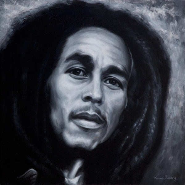 1 - Bob Marley - Oil Painting