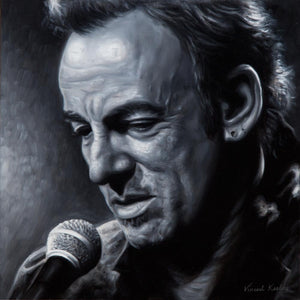 2 - Bruce Springsteen, Wrecking Ball - Portrait Painting - SOLD