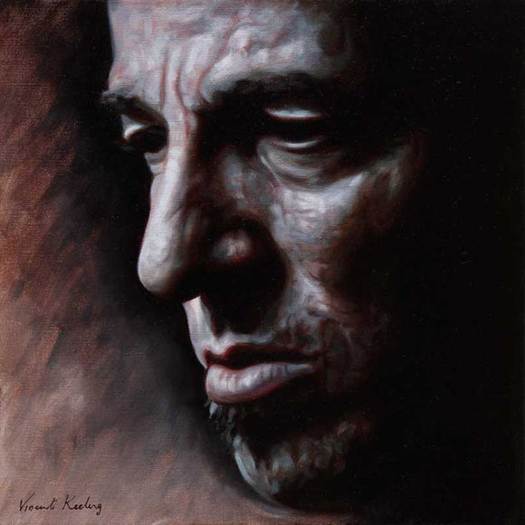 Bruce Springsteen (Long Walk Home) - Oil Painting