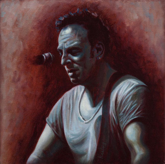 Bruce Springsteen, The Rising - Oil Painting - SOLD