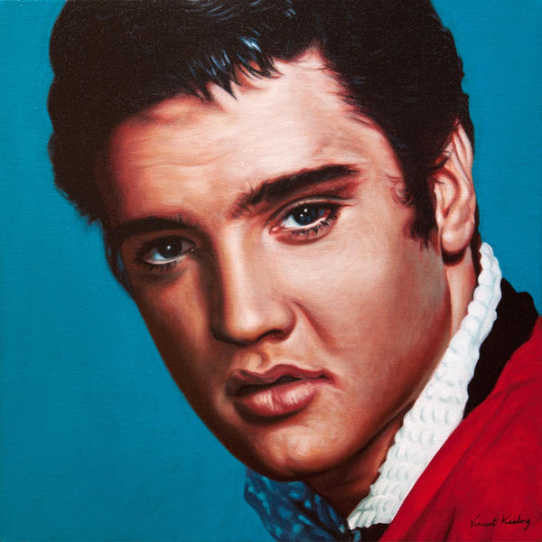 2 - Elvis Presley - Portrait Painting - €1250
