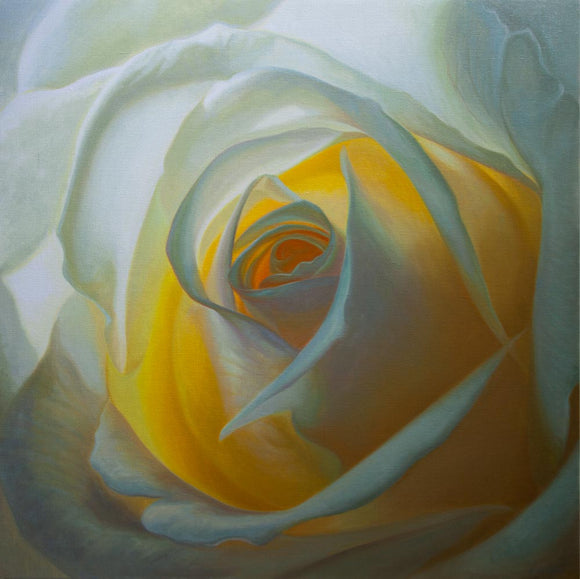 0 - Inner Light III - Oil Painting