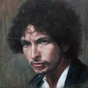 Bob Dylan: A portrait in colour - Oil Painting