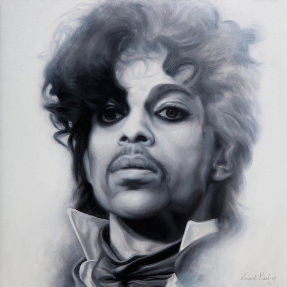 Prince, Purple Rain - Original Painting