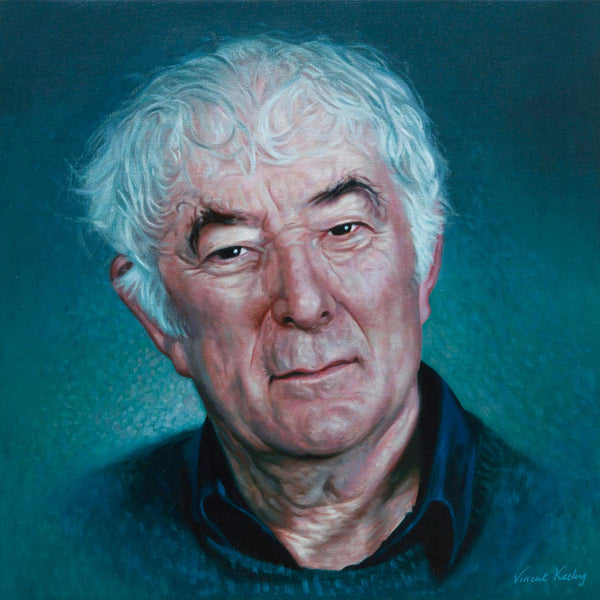 1 - Seamus Heaney - Oil Painting - SOLD