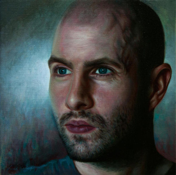 Self portrait by Vincent Keeling - SOLD