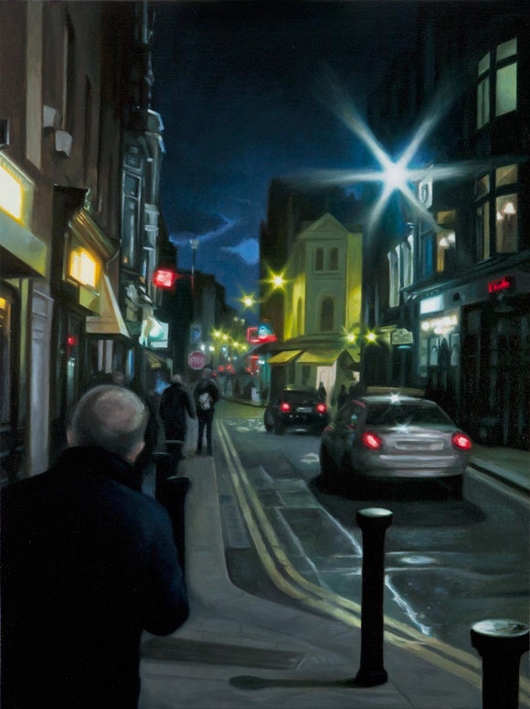 1 - St Andrew's to South William: A Dublin Streetscape - Oil Painting