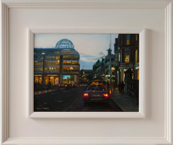 1 - Twilight on Stephen's Green, Dublin City - Oil Painting - €750