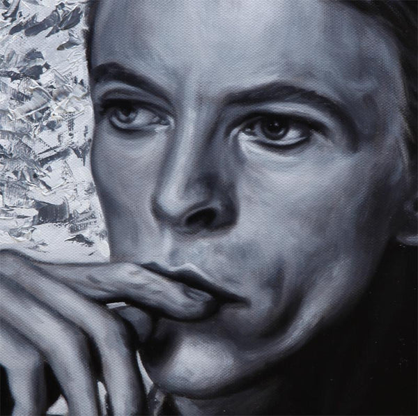 SOLD - David Bowie - Portrait Painting