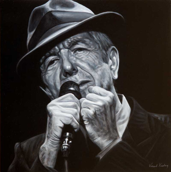 2 - Leonard Cohen, I'm You Man - Limited Edition Print