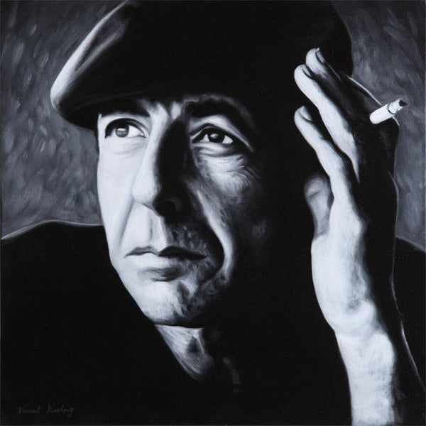 Leonard with Beret - Limited Edition Print