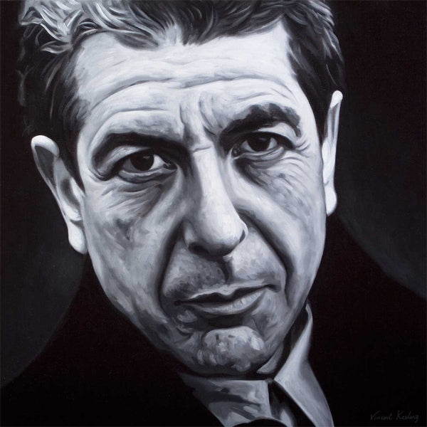 Leonard Cohen - Limited Edition Print