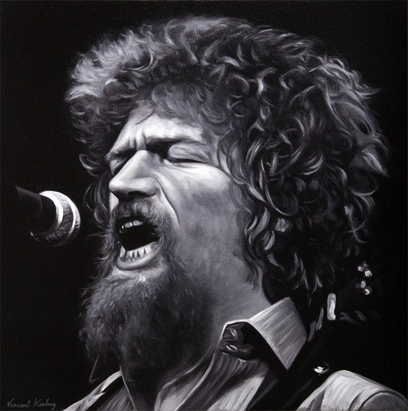 1 - LUKE KELLY - Original Painting - SOLD