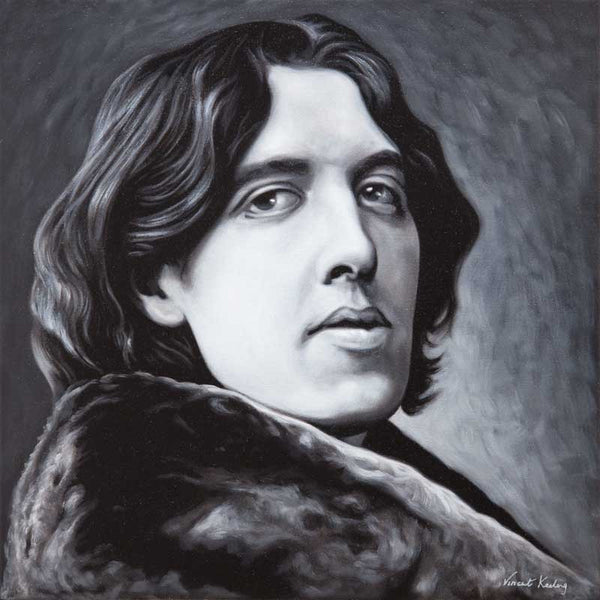 Oscar Wilde - Portrait Painting - AVAILABLE