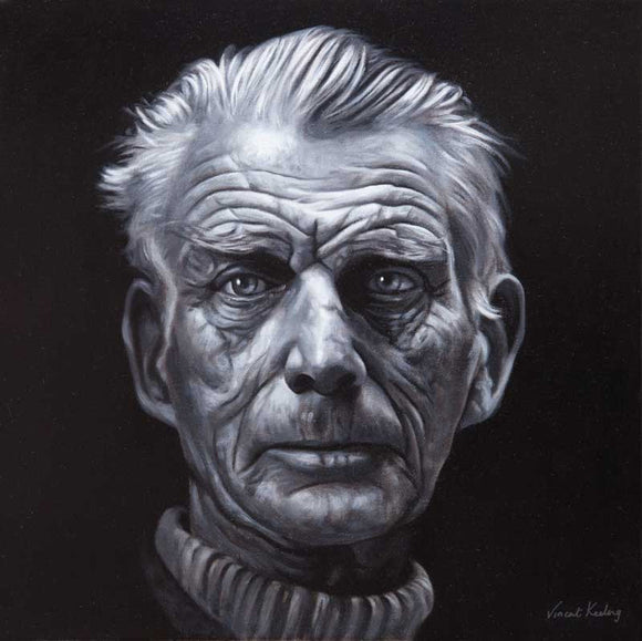 Samuel Beckett, Searching - Limited Edition Print