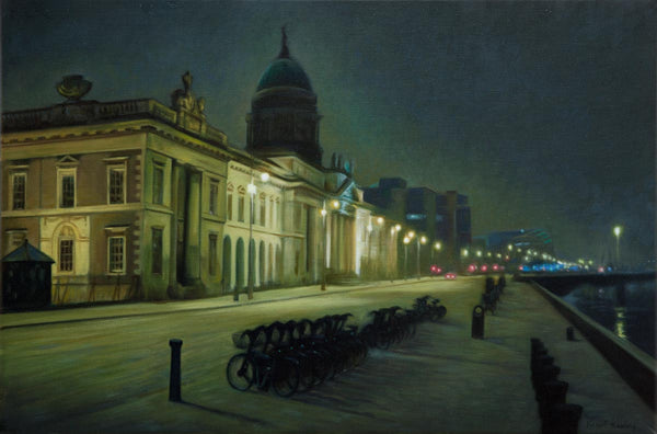 The Custom House - Oil Painting - Sold