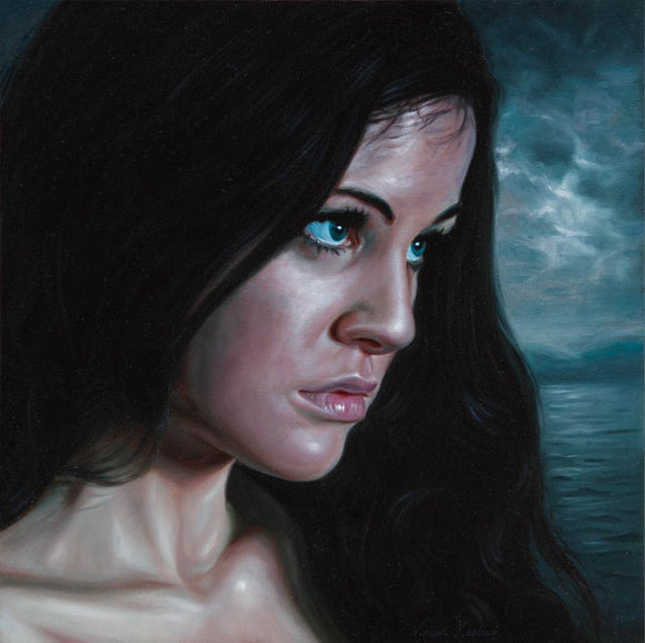 Thoughts of a Homecoming - Oil Painting - SOLD