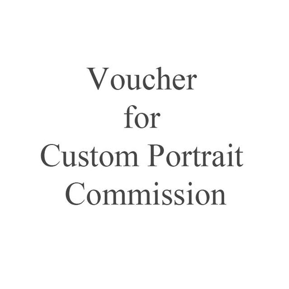 Voucher for portrait painting commission - 500 Euro
