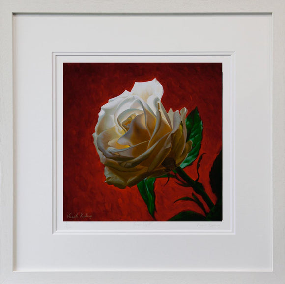White on Red II - Limited Edition Print