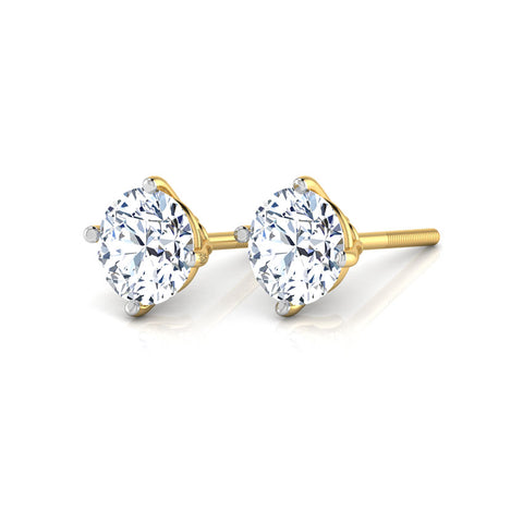 10k Gold Stud Earrings