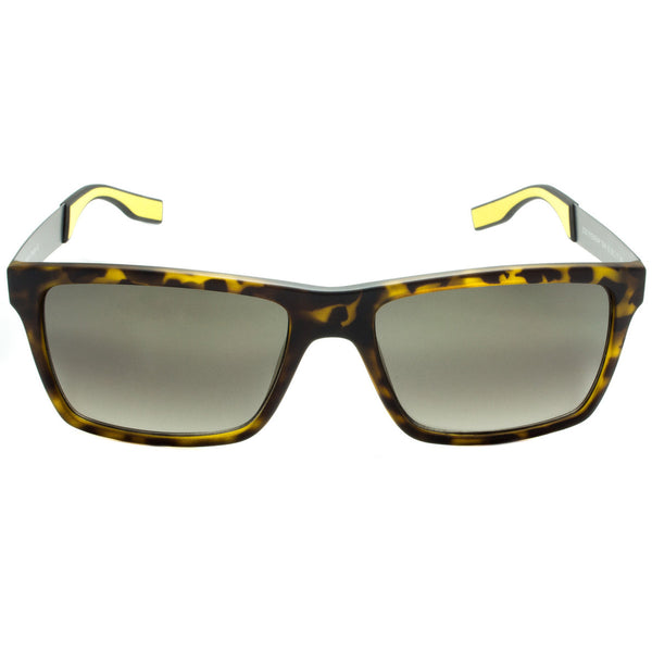 Tortoise Yellow Sunglasses Black Gray Temple UV Ray Protection Eye Wear Glasses