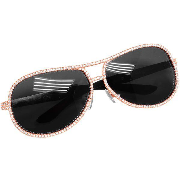 Men's Designer Metal Custom Sunglasses Shades