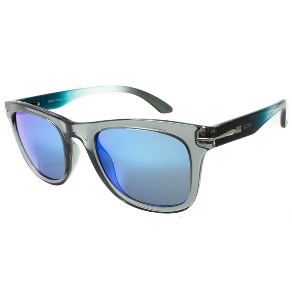 Aviator Blue Shades Sunglasses Black Temple Black Frame Fashion
