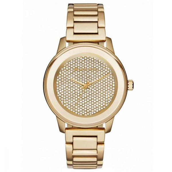 Michael Kors MK6209 Ladies Kinley Gold Pavé Watch