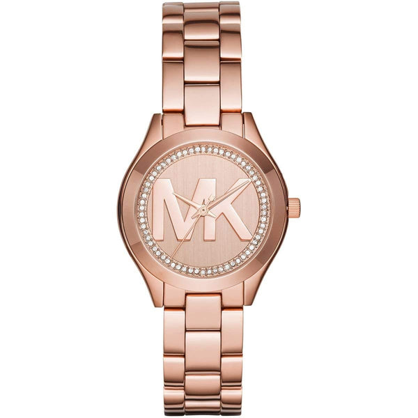 Michael Kors MK3549 Mini Slim Rose Gold Womens Watch
