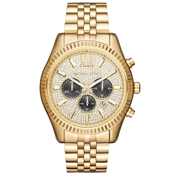 Michael Kors Chronograph Lexington Stainless Steel Watch MK8494
