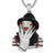 Mens Freddy Custom Character 925 Silver Bling Rapper Pendant
