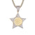 Custom Picture Frame Star Icy Shape Memory Gift Pendant
