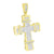 Jesus Cross Pendant Charm Stainless Steel Chain