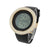Rose Gold Custom Bezel Black Rubber Strap Digital Jojo Watch