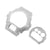 G Shock DW6900 Rhodium Finish Bezel Plate Combo Set