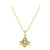 Freemason Masonic G Pendant Moon Cut Chain Gold On Stainless Steel