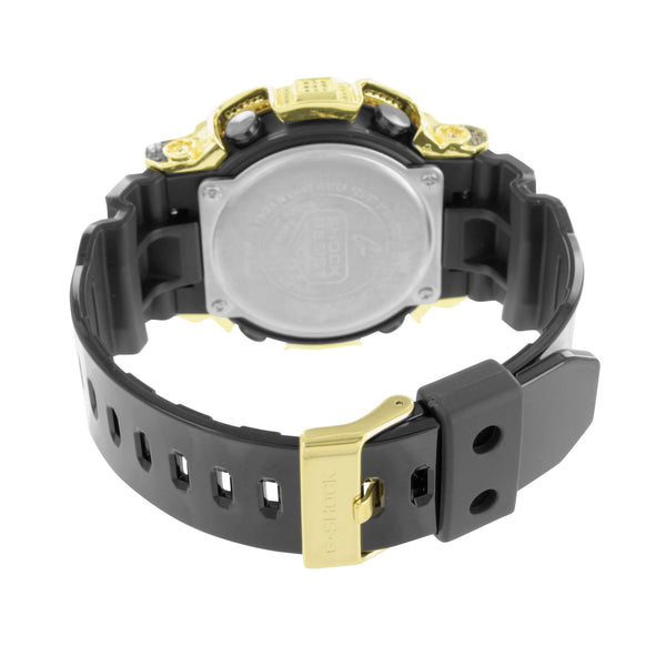 G Shock GA200GD Watch Mens Canary Black Lab Diamonds