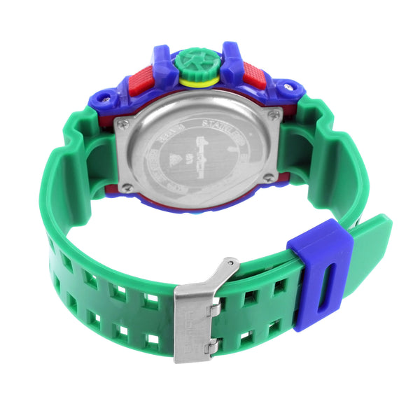 Shock Green Blue Watch Funky Limited Edition Sport Series