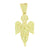 Angel Design Pendant Yellow Lab Diamonds Fully Icy