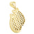 Black Yellow Lab Diamond Boxing Gloves Gold Finish Pendant