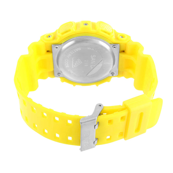 Bright Yellow Digital Watch Shock Resist 51MM