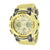 Metallic Gold G Shock GA200GD-9A Watch Mens Resin Band